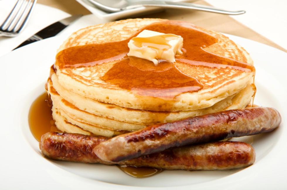 Pancake & Porkie Breakfast